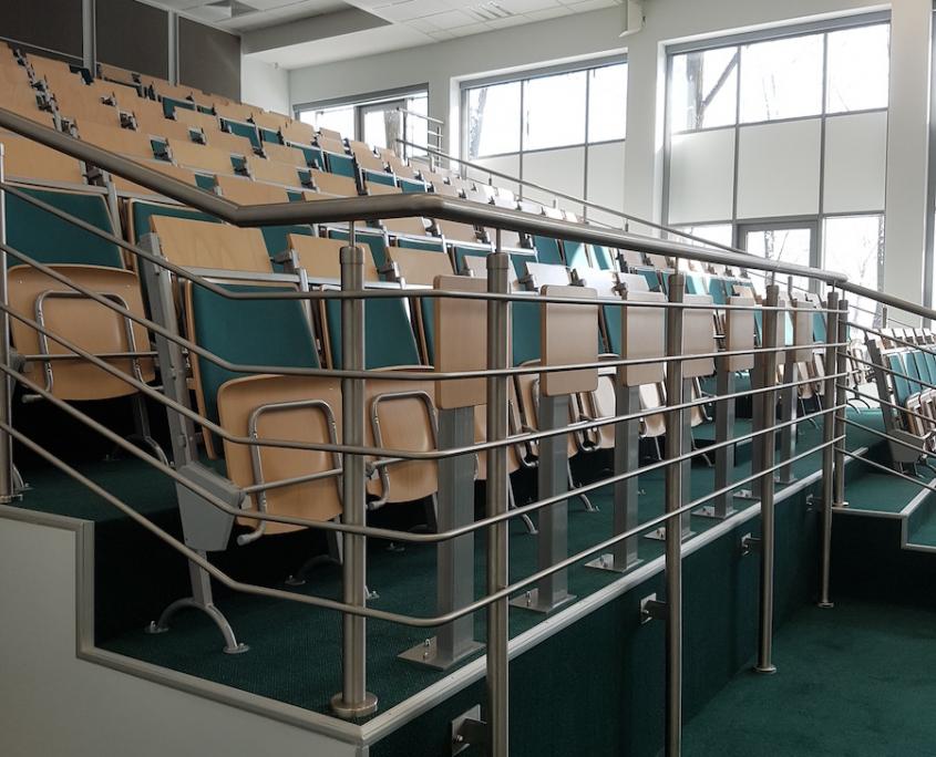 wyremontowana aula w Sosnowcu