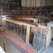 w trakcie remontu sal audytoryjnych w Katowicach