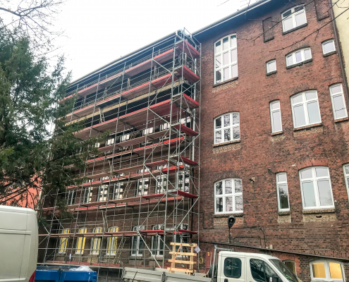 Inwestycje - Wydział Zdrowia Publicznego w Bytomiu - bydynek z zewnątrz