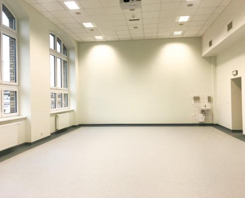 Inwestycje - Wydział Zdrowia Publicznego w Bytomiu - pomieszczenie