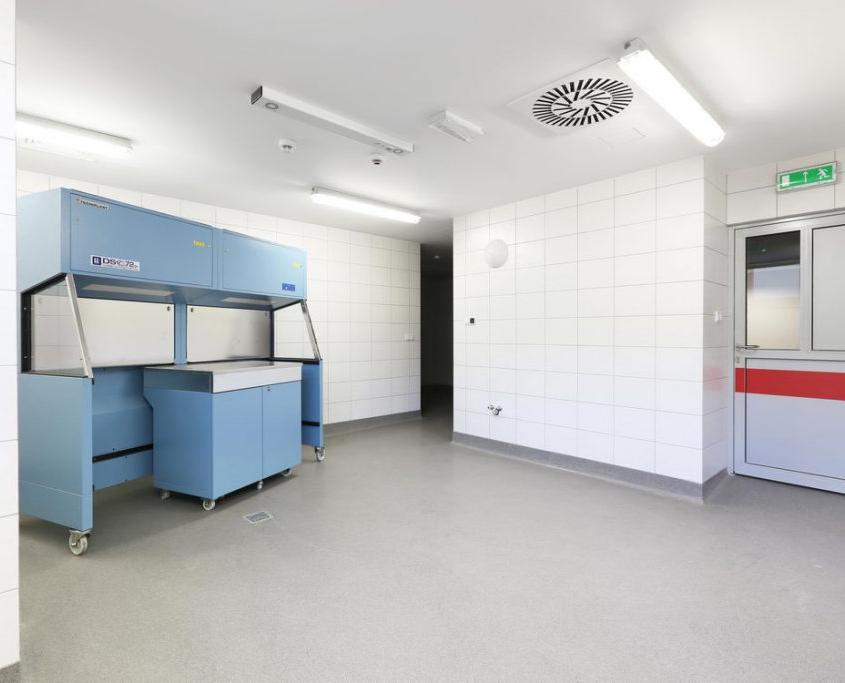 pomieszczenie medycyny doświadczalnej w Katowicach