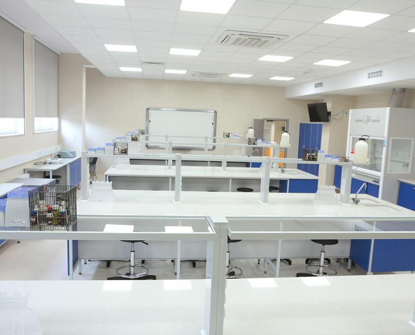 sala laboratoryjna w Katowicach