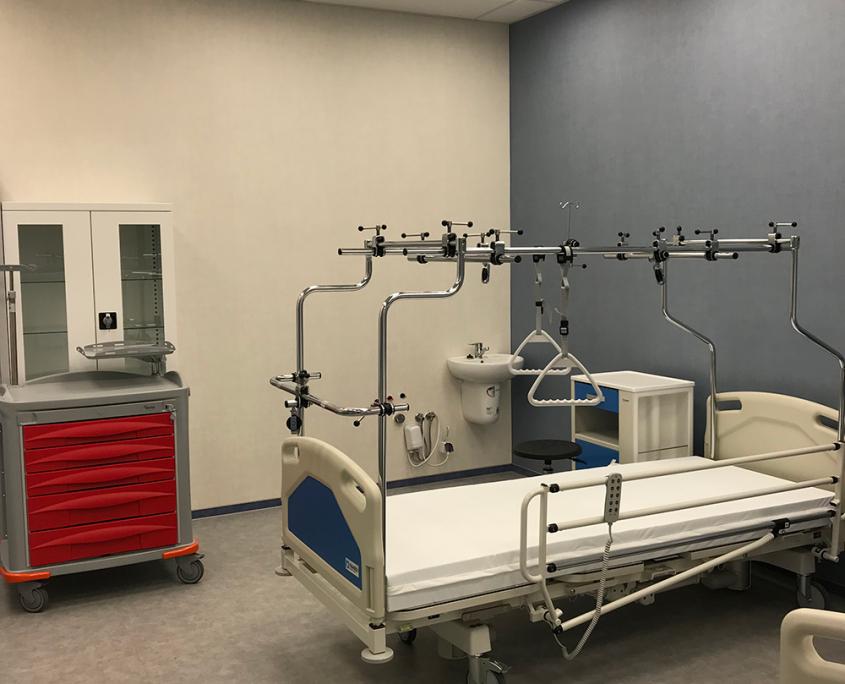 sala pacjenta - centrum dydaktyki i symulacji medycznej w Katowicach