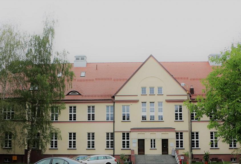 zdjęcie z zewnątrz budynku w Zabrzu