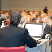 konferencja, aula, słuchacze