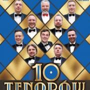 plakat do koncertu 10 tenorów