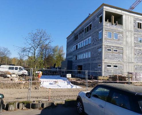 budowa budynku biobanku