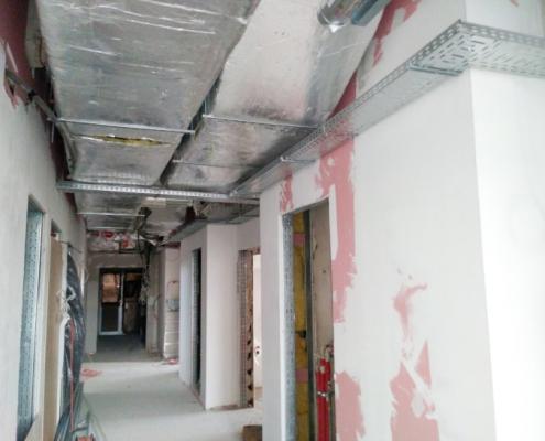 Inwestycje - przebudowa laboratorium, segment C1, Katowice Medyków 18